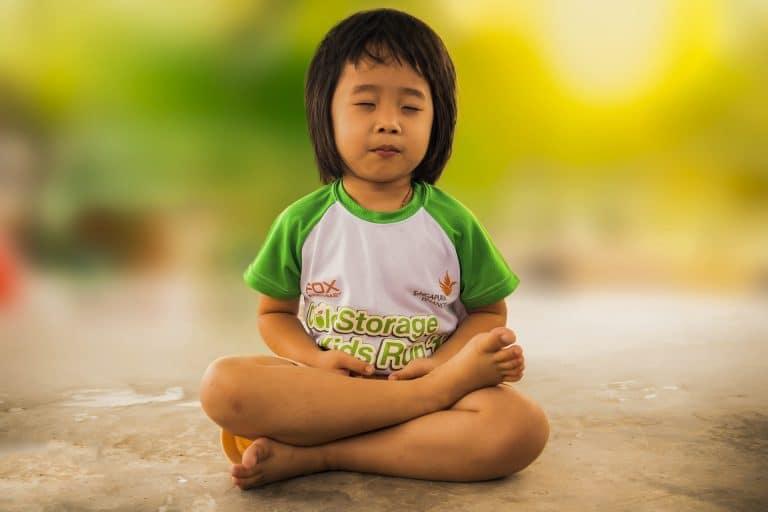 méditation enfant grandir zen