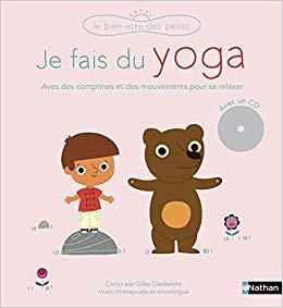 livre yoga zen enfant 3 ans