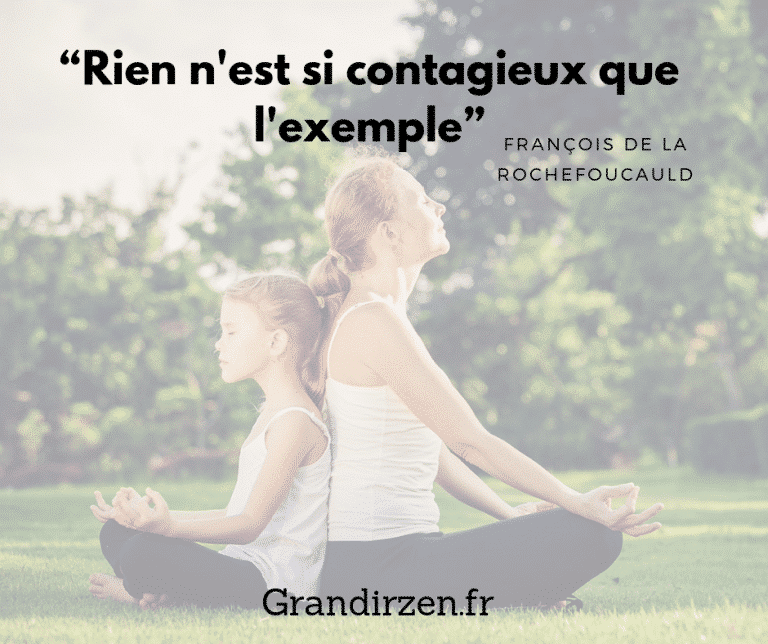 citation positive grandir zen