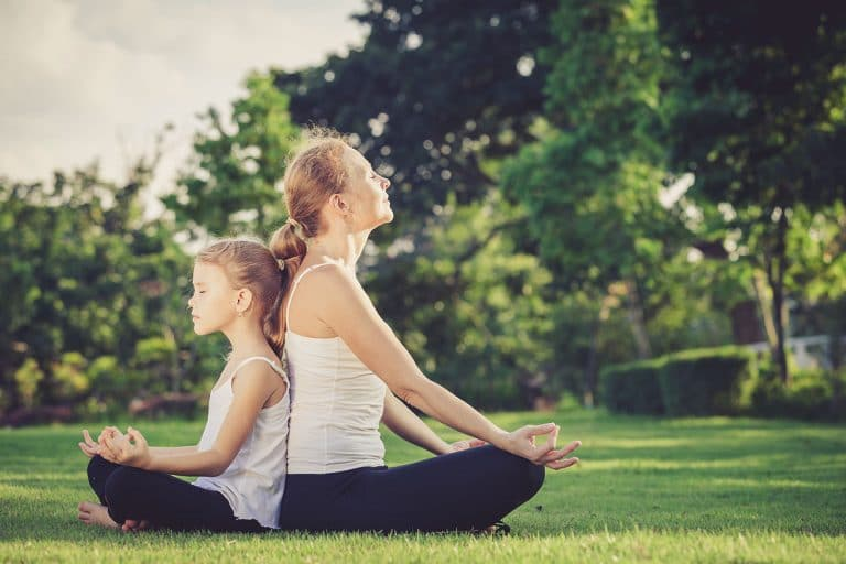 yoga enfant parent