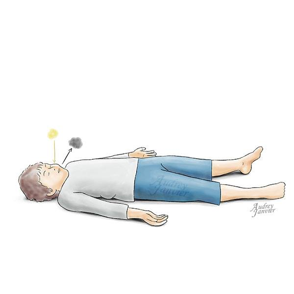 Respiration yoga enfant