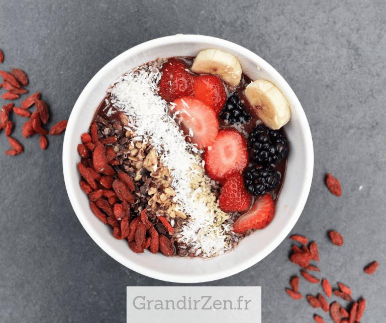Tableau de visualisation positive pour enfant : bien manger, se préparer un petit-déjeuner gourmand et sain, voilà une étape très importante de ce rituel