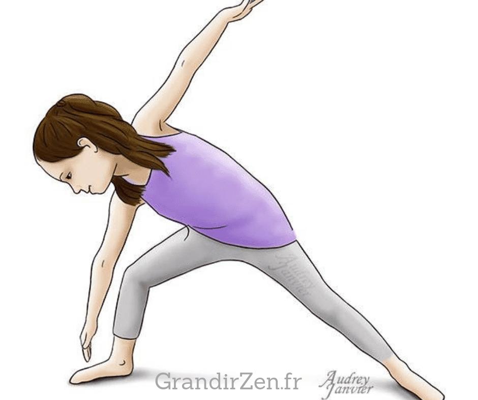 Tableau de visualisation positive pour enfant. Un nouvel objectif : faire du yoga pour être plus zen et en forme