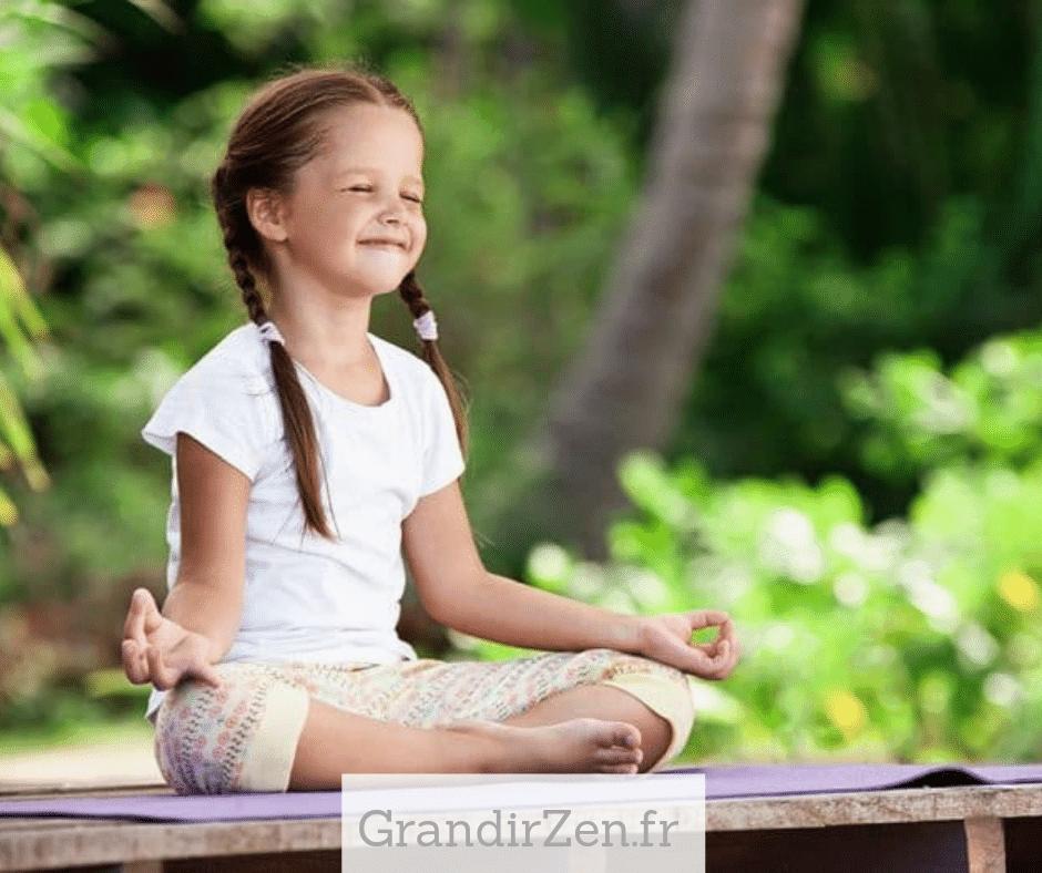 Tableau de visualisation pour enfant, méditer quelques minutes plusieurs fois par semaine peut apporter de nombreux bénéfices à nos enfants