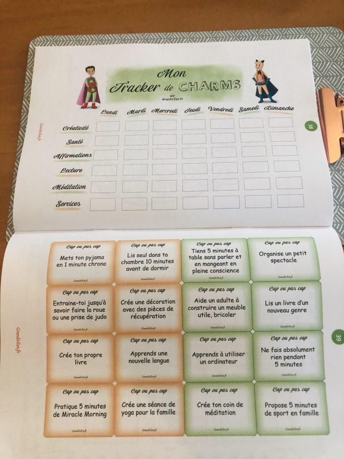 Kit super pouvoirs 4 semaines grandirzen - cahier pour enfant