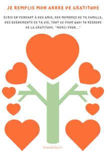 arbre de la gratitude