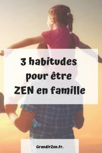 3 habitudes zen image pinterest