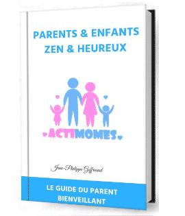 Téléchargez gratuitement le guide du parent écouté et épanoui et recevez un conseil quotidien de parentalité positive