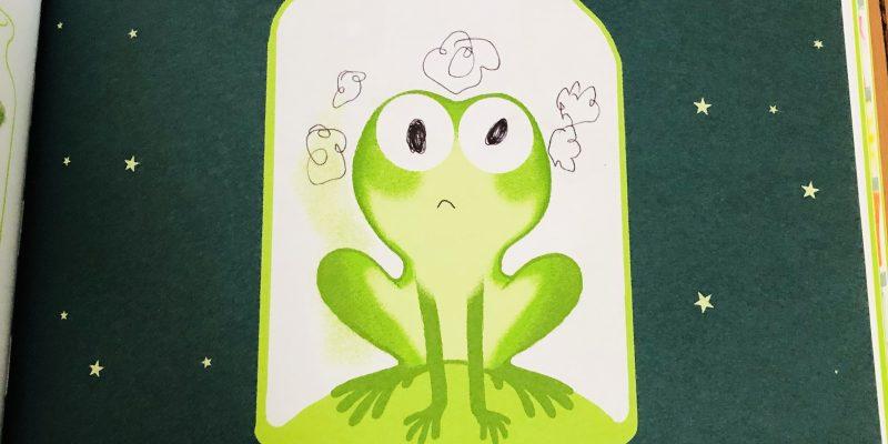 Calme et attentif comme une grenouille, ton guide de sérénité. La météo intérieure