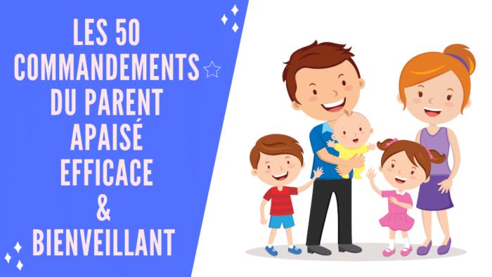 Formation à la parentalité positive : Les 50 commandements du parent bienveillant d'Actimomes