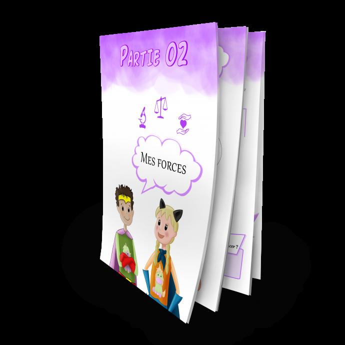 Confiance en soi cahier d'activités Grandir Zen pour enfant 6 à 11 ans partie 2 Mes forces