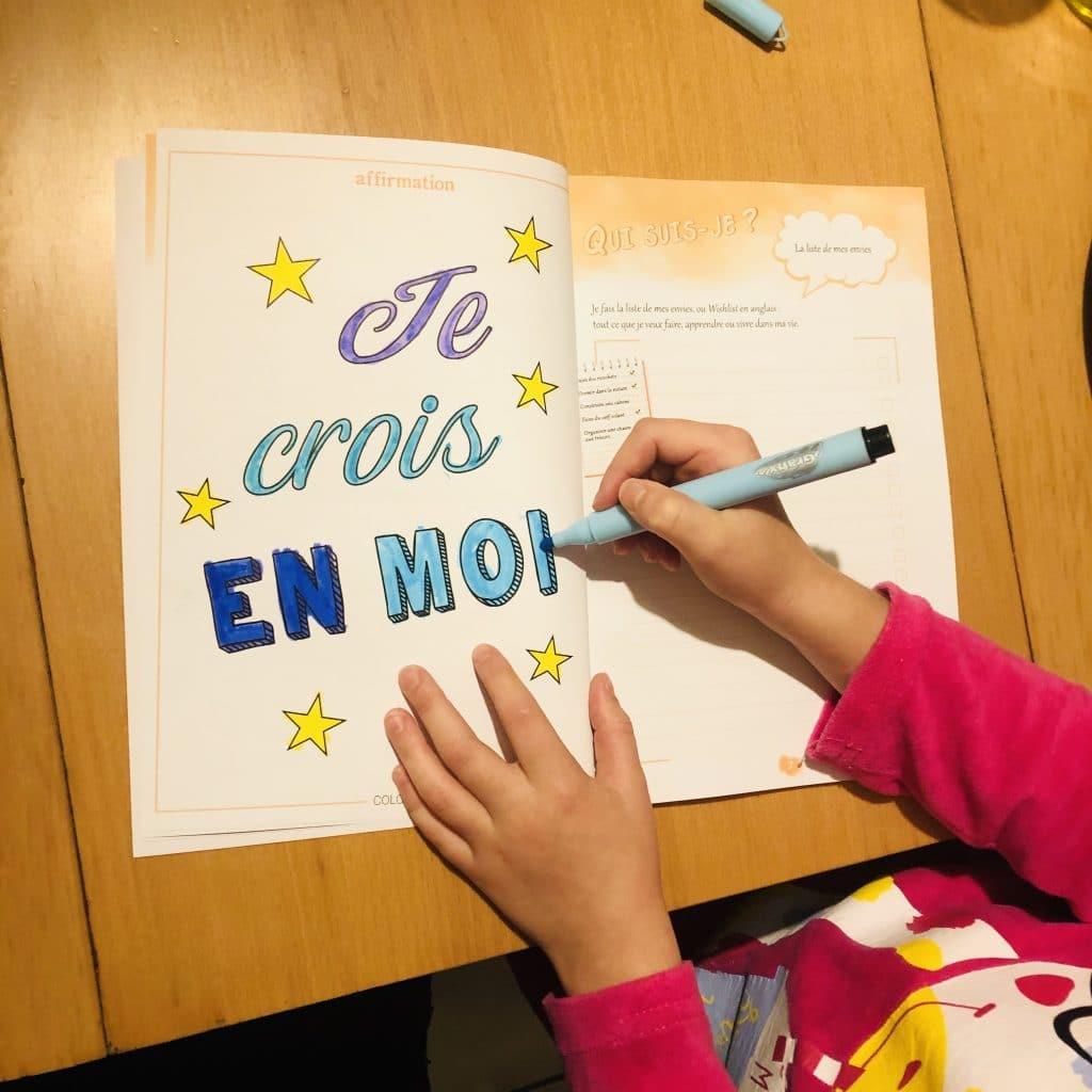 Confiance en soi cahier d'activités Grandir Zen pour enfant 6 à 11 ans.