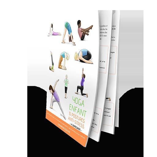 15 postures antistress à télécharger en PDF