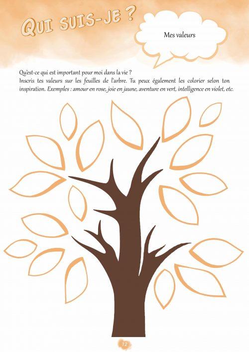 Confiance en soi cahier d'activités Grandir Zen pour enfant 6 à 11 ans. Connaitre mes valeurs pour avoir confiance en moi